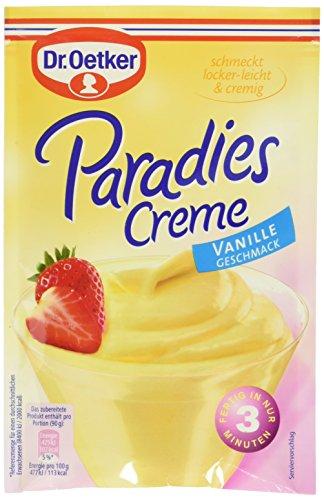 Dr. Oetker Paradies Creme Vanille Geschmack, 13er Pack (13 x 60 g)