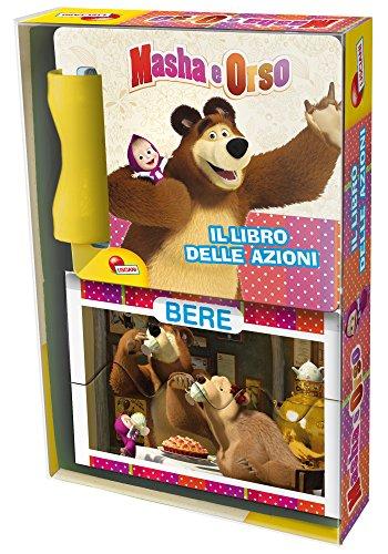 Lisciani 07111 - Mini-libro gioco Masha le azioni