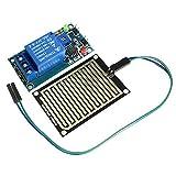 Abilie, modulo relè di Controllo relè con sensore a Gocce di Pioggia, 12 V, Compatibile con Robot Arduino