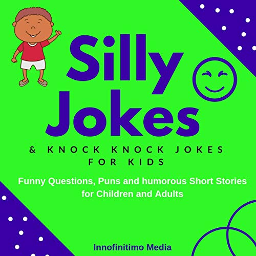 Couverture de Silly Jokes & Knock Knock Jokes for Kids
