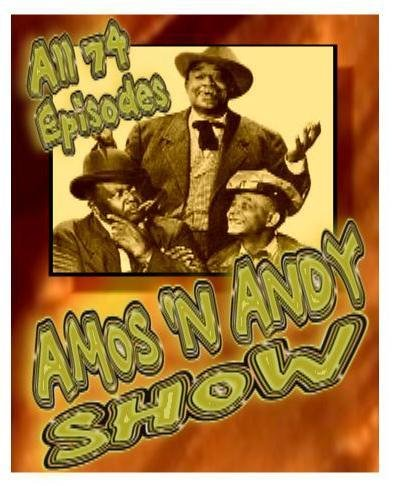 Amos & Andy Show All 74 Complete Dvd Set