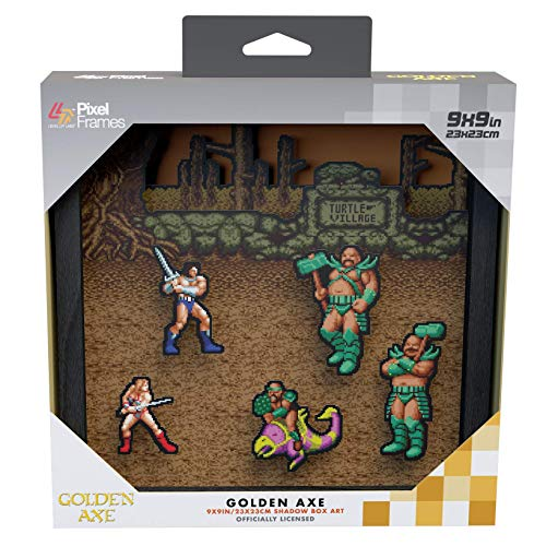 Pixel Frames Golden Axe (Electronic Games)