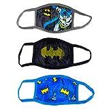 Youth Batman Reusable Face Masks (3-Pack)