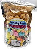 Freeze Dried Yummers! Original Variety Pack - 8 oz - Original Skittles, Saltwater Taffy and Caramels