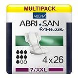 Abena Abri-San Premium Bariatric 7 XXL 26 unidades x 4 paquetes 104 unidades