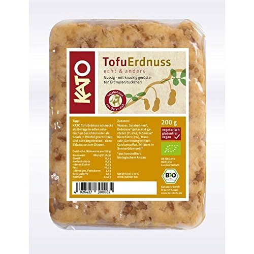 Kato Tofu Erdnuss - Bio - 200g