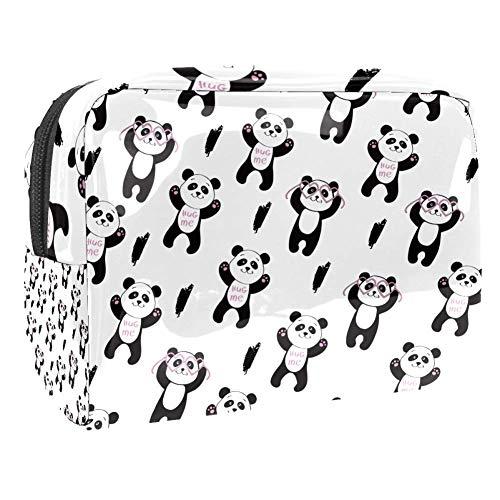 Maquillage Cosmetic Case Multifunction Travel Toiletry Storage Bag Organizer for Women - Hug Me Cute Panda