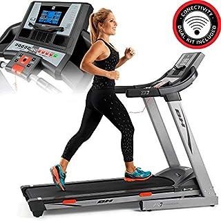 BH Fitness i.ZX7 G6473IRF - Tapis roulant - Elettrico - Pieghevole - Velocità max 18 Km/h - Inclinazione elettrica 12% max...