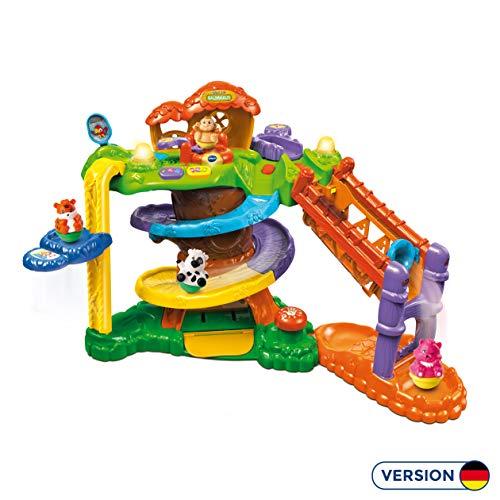 Vtech 80-510904 ZoomiZooz - Baumhaus, Babytiere, Mehrfarbig