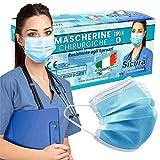 Immagine 1 50 mascherine chirurgiche per adulti