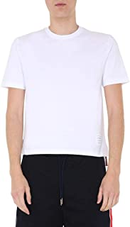Luxury Fashion | Thom Browne Men MJS111A01454100 White Cotton T-shirt | Spring-summer 20