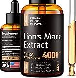 Lion's Mane Extract - Lion's Mane Mushroom Supplement for Immune...