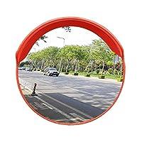 カーブミラー 車庫鏡 凸面鏡アジャスタブル安全ミラートラフィックミラーは、街角ガレージ駐車場60センチメートル80センチメートルのためのブラインドスポットを排除取付金具を送ります huhuan 1-28 (Size : 800mm)