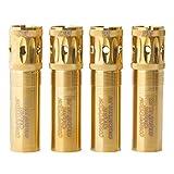 Carlson's チョークチューブ ベレッタ・ベネッリ モービル ゴールド 競技 ターゲット ポート付きスポーツクレイチョークチューブ 12ゲージ モド ゴールド