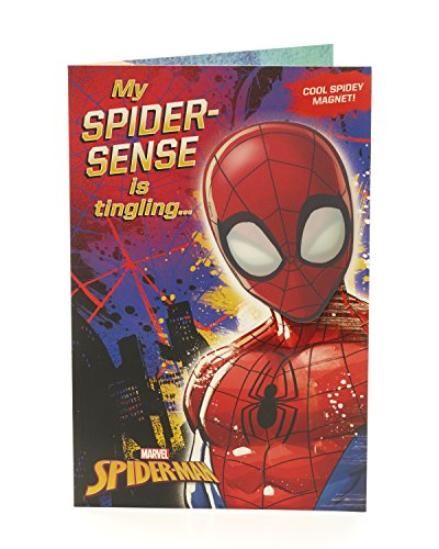 Carlton 553118–0Marvel Spiderman Geburtstagskarte
