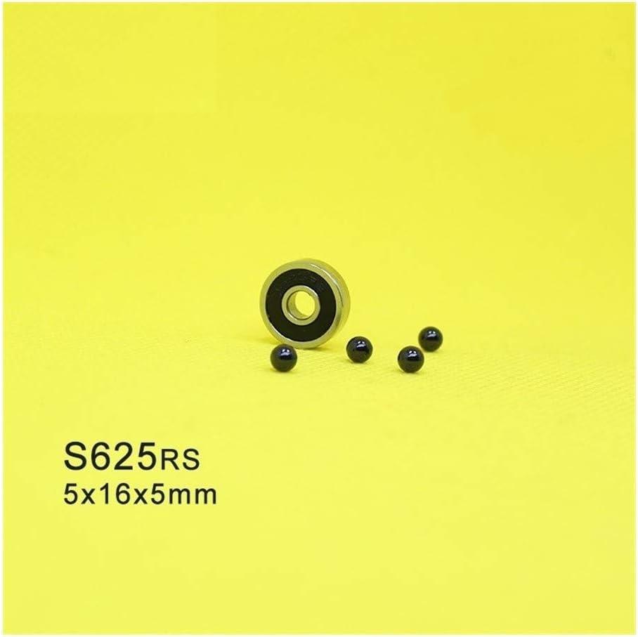 Majhengg 1 PC 625 Hybrid Ceramic Bearings S625 440C Stainless St