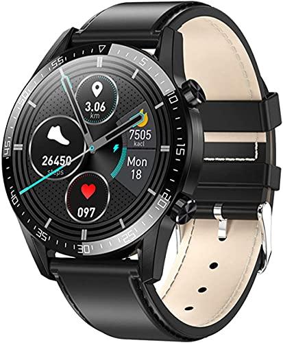 hwbq Reloj inteligente inteligente reloj inteligente para hombre y mujer, recordatorio de llamada-A