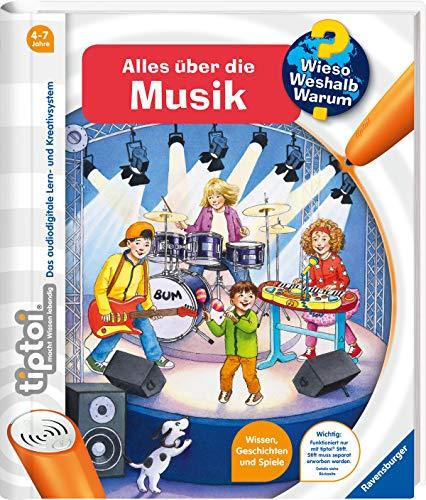 tiptoi® Alles über die Musik (tiptoi® Wieso? Weshalb? Warum?, Band 23)