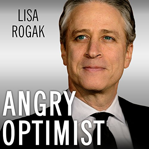 Angry Optimist audiobook cover art