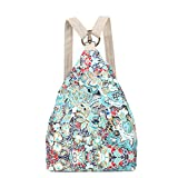 Black Butterfly Original Women's Bohemia National Style Canvas Backpack Shoulder Bag (small) , L