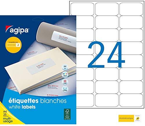 Agipa 119208/Nota etiqueta Fragile 60/x 190/mm no despegable