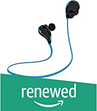 (Renewed) SoundPEATS Qy7 Bluetooth 4.0 Wireless Sports Headset with Mic (SoundPEATS Blue & Black Qy7 Bluetooth 4.0 Wireless Sports Headset with Mic)