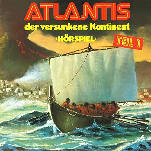Atlantis der versunkene Kontinent 1 audiobook cover art