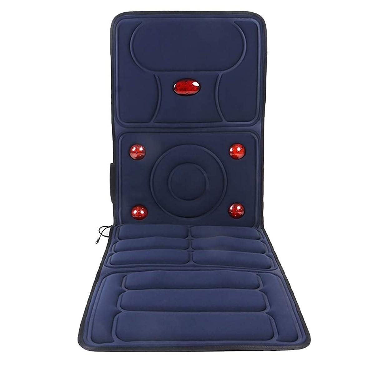 スパークに変わる盆地全身マッサージマットマットレス - ベッドマッサージパッドクッションパーツの通販なら| ヒーテッドマッサージャー 肩や背中の痛み、家やオフィスの椅子の使用のための電気ボディマッサージからのストレスや緊張を和らげます
