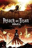 Empire Merchandising 669148 Attack on Titan, Key Art, Manga Ataque de Anime en la mayora de Titanes de pster de Cartel de - de tamao de 61 x 91,5 cm