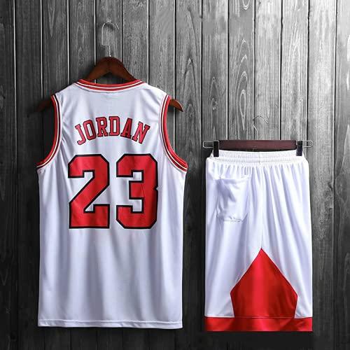 Lakers # 23 traje de camiseta de baloncesto para adultos chaleco de baloncesto para hombre + traje de pantalón corto camiseta de baloncesto