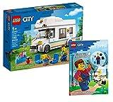 Collectix Lego 60283 - Juego de autocaravana Lego City y ayuda para todo el mundo (cubierta blanda)