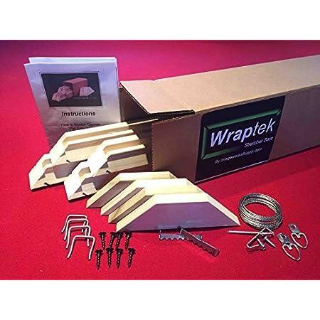 Canvas Stretcher Bars Frame 2 Bar Pack 13 Wraptek
