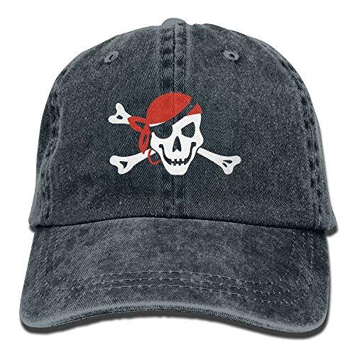 2000px-Bandanna Roger Flag.svg.PNG Gorras de béisbol de vaquero para adultos Sombreros de mezclilla para hombres Mujeres