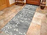 Korridor Teppich- Moderne Minimalist Flur Läufer Teppich, rutschfeste, Breite 60cm / 80cm / 100cm / 120cm erhältlich, Länge Anpassbare (Size : 80×300cm)