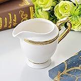 LICAILONGJIN7 Jarra de Leche y azucarero Creamer, de cerámica Creativa con la manija/Serving Pitcher/Salsa Pitcher/Leche café Creamer, Jug for la Cocina Salsera y Puesto