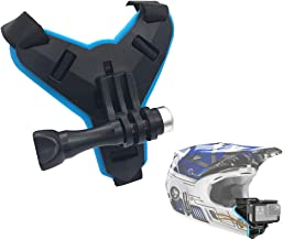 VGSION Motorcycle Helmet Strap Chin Mount for GoPro Hero 7 6 5 4 DJI Osmo Action SJCAM Xiaomi Yi 4K