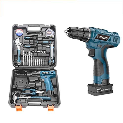 YKHOME Cordless Drills & Screwdrivers Set,With12v 1800Mah Li-Ion Rechargable Cordless Wood & Plastics Drill Driver, Easy Carry with Professional Case