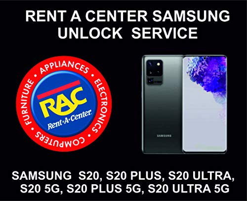 Rent A Center Removal Service For Samsung S20, S20 Plus, S20 Ultra, 5G