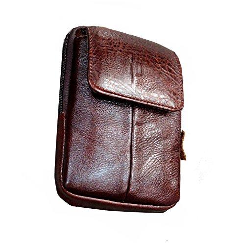 Cyber Sale Monday Deals Mens Belt Pouch Leather Waist Bag Fanny Pack Cellphone Holster Case Purse Belt Pouch Clip Travel Wallet for iPhone 11 Pro 7 6 8 Plus X Max Samsung Galaxy S10 S9 Plus