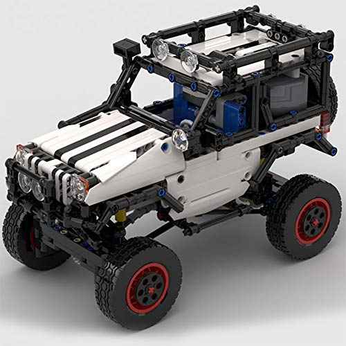 WDLY 835 PC Baustein Kompatibel Mit Lego Jeep Offroad-Fahrzeug-RC, Puzzlespielzeug Technic Super Racing RC Car...