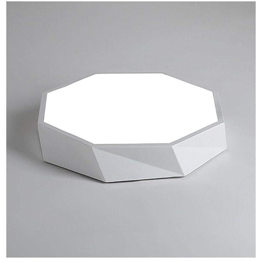 実り多いバスタブ旅客CattleBie マカロン超薄型LEDシーリングライト幾何リビングルームは、シンプルでモダンなベッドルームライトの色バルコニーアイルランプを点灯します (Color : White Tricolor, サイズ : 40*5cm)