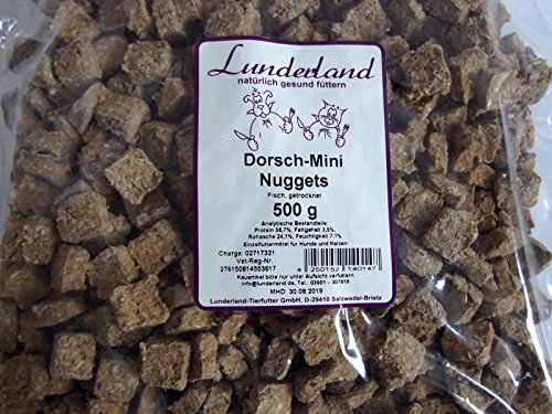Lunderland Dorsch-Mini-Nuggets, 500 g