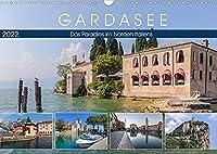 Gardasee, das Paradies im Norden Italiens (Wandkalender 2022 DIN A3 quer): Von Palmen, Oleandern, Olivenbaeumen und Weinhaengen umgeben, ist der Gardasee wie eine Oase in der Alpenwelt. (Monatskalender, 14 Seiten )