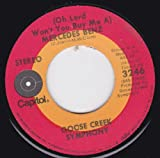 (Oh Lord Won't You Buy Me A) Mercedes Benz/Rush On Love (VG- 45 rpm)