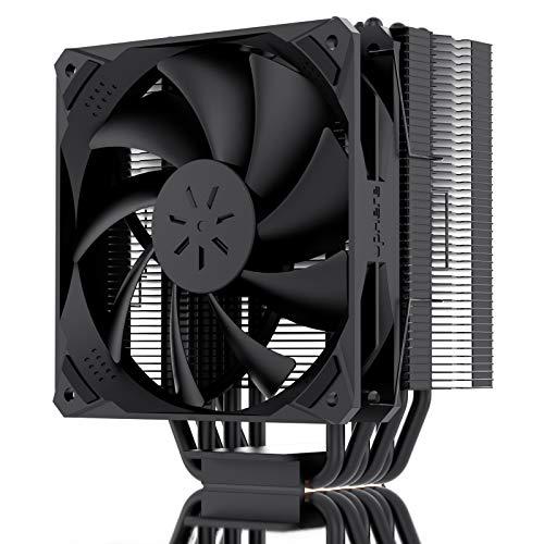 upHere 6 tubos de calor de contacto directo Ventilador para CPU, compatibles con Intel y AMD Ventilador de 120 mm PWM,N1065BK