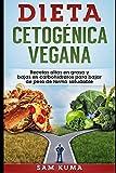 Dieta Cetogénica Vegana: Recetas altas en grasa y bajas en carbohidratos para bajar de peso de forma saludable