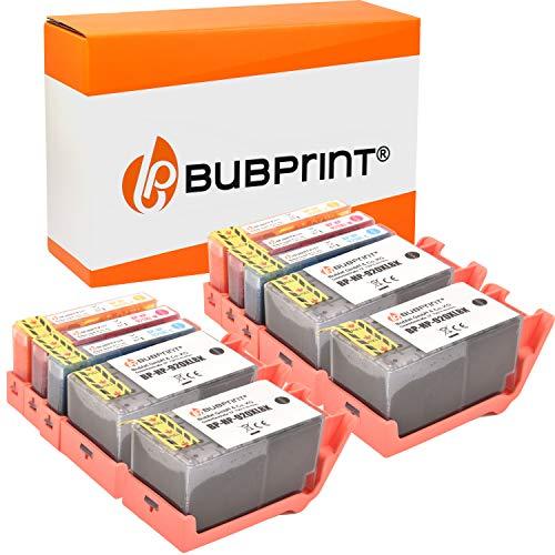 10 Bubprint Druckerpatronen kompatibel für HP 920 XL 920XL für OfficeJet 6000 6500 6500A Plus 7000 Special Edition 7500A Wireless Schwarz Cyan Magenta Gelb Multipack
