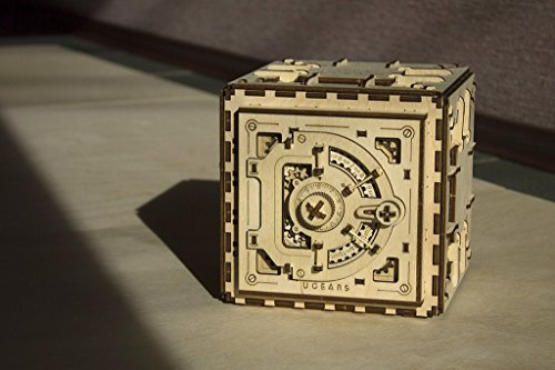 Casse-tête 3D en Bois pour Adultes Modèles de Coffre-fort Ugears - 3