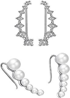 Best pearl ear cuffs online Reviews