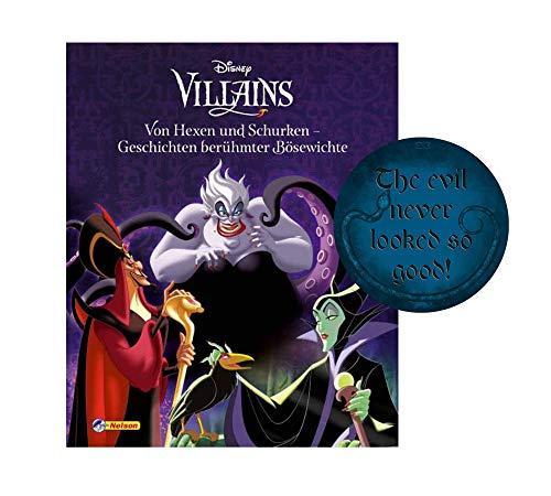 Buchspielbox Disney Villains: Von Hexen und Schurken - Geschichten berühmter Bösewichte + Böser Sticker, Vorlesegeschichten für Kinder ab 4 Jahren